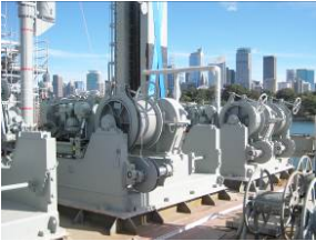 RAS System Winches after Maintenance